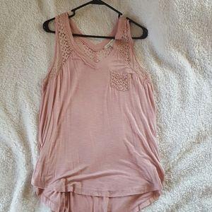 American Rag cie entry pink top